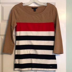 Tommy Hilfiger Women's 3/4 Sleeve Top